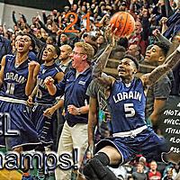 2.24.2015 Lorain at Bedford Boys Varsity Basketball
