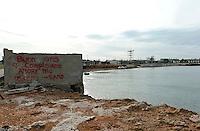 Brindisi litoranea nord- ex spiaggia degli Ufficiali M.M.