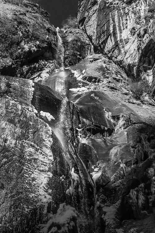 Waterfall Bhutan.