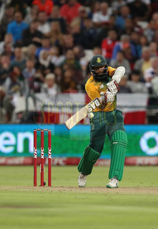 Hashim Amla during the First KFC T20 Match between South Africa and England played at Newlands Stadium, Cape Town, South Africa on February 19th 2016