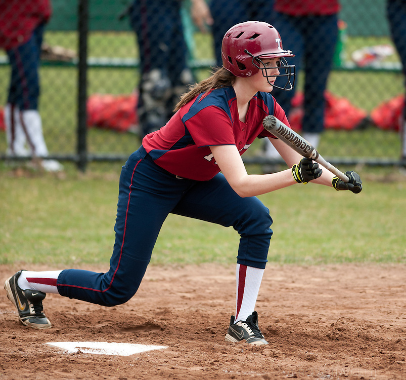 Taft School-April 2013- Varsity Softball. (Photo by Robert Falcetti)