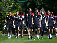 Dundee players arrive for the start of pre-season training  -  Dundee FC pre-season training at Dundee University Grounds, Riverside<br /> <br />  - &copy; David Young - www.davidyoungphoto.co.uk - email: davidyoungphoto@gmail.com