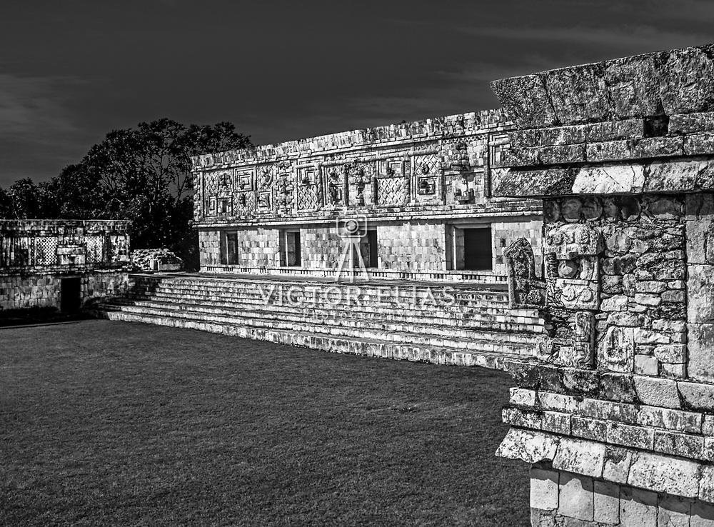 Uxmal # 3             Nuns Quadrangle Mayan Ruins of Uxmal.