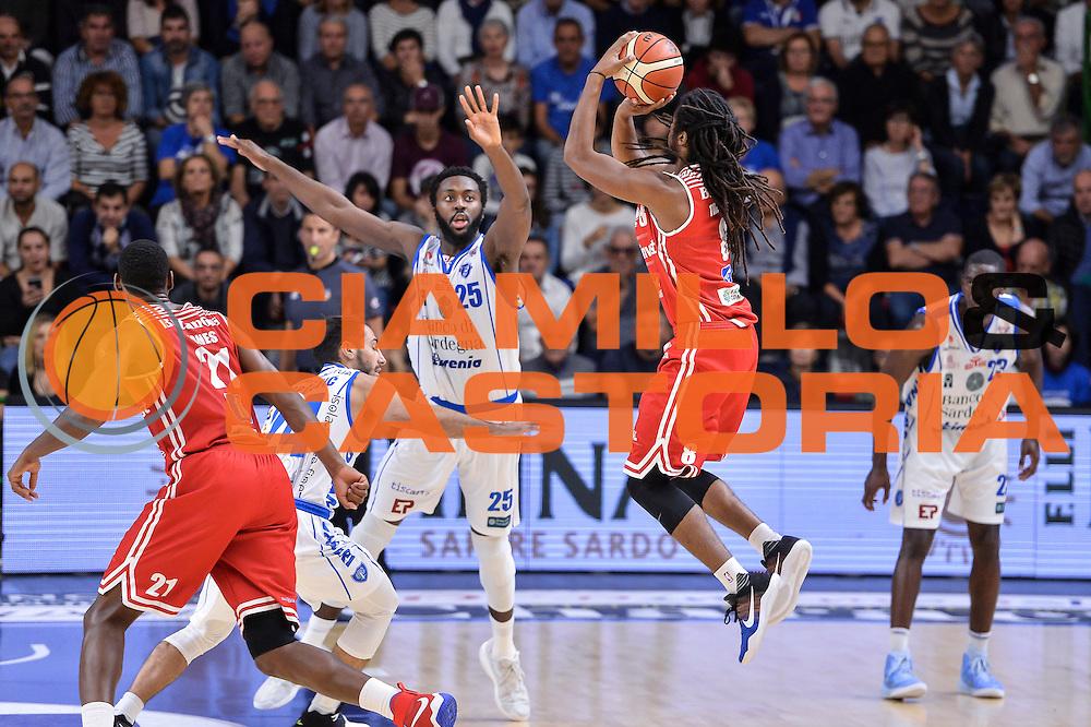 Marcus Thornton<br /> Dinamo Banco di Sardegna Sassari - Consultinvest Victoria Libertas Pesaro<br /> Lega Basket Seire A 2016/2017<br /> Sassari 30/10/2016<br /> Foto Ciamillo-Castoria