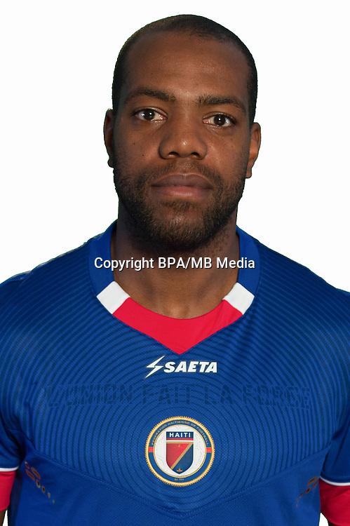 Football Conmebol_Concacaf - <br />Copa America Centenario Usa 2016 - <br />Haiti National Team - Group B - <br />Kim Jaggy