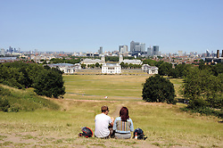 © Licensed to London News Pictures. 09/07/2013<br /> Heatwave  weather today (09.07.2013) at Greenwich Park in South East London.<br /> Temperatures are set to continue.<br /> Photo credit :Grant Falvey/LNP