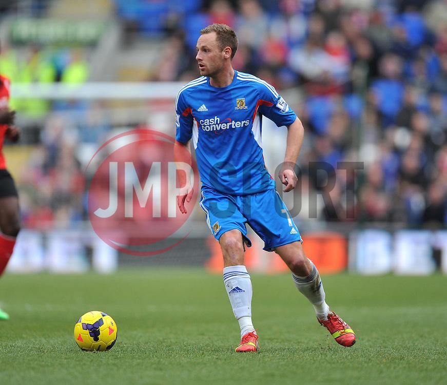 Hull City's David Meyler - Photo mandatory by-line: Alex James/JMP - Tel: Mobile: 07966 386802 22/02/2014 - SPORT - FOOTBALL - Cardiff - Cardiff City Stadium - Cardiff City v Hull City - Barclays Premier League