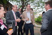 JAMES VLASTO, Archant Summer party. Kensington Roof Gardens. London. 7 July 2010. -DO NOT ARCHIVE-© Copyright Photograph by Dafydd Jones. 248 Clapham Rd. London SW9 0PZ. Tel 0207 820 0771. www.dafjones.com.