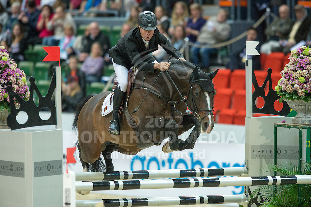 Rolf-Goran Bengtsson (SWE) & Casall La Silla - Rolex FEI World Cup Jumping Final 1 - Gothenburg Horse Show 2013 - Scandinavium, Gothenburg, Sweden - 25 April 2013