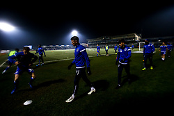Bristol Rovers warm up - Mandatory by-line: Robbie Stephenson/JMP - 04/12/2019 - FOOTBALL - Memorial Stadium - Bristol, England - Bristol Rovers v Leyton Orient - Leasing.com Trophy