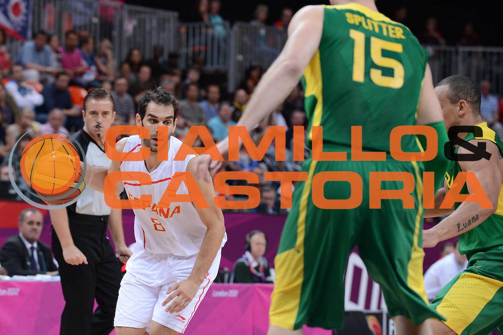 DESCRIZIONE : London Londra Olympic Games Olimpiadi 2012 Men Preliminary Round Spagna Brasile Spain Brazil<br /> GIOCATORE : Jose Calderon<br /> CATEGORIA :<br /> SQUADRA : Spagna Spain<br /> EVENTO : Olympic Games Olimpiadi 2012<br /> GARA : Spagna Brasile Spain Brazil<br /> DATA : 06/08/2012<br /> SPORT : Pallacanestro <br /> AUTORE : Agenzia Ciamillo-Castoria/M.Marchi<br /> Galleria : London Londra Olympic Games Olimpiadi 2012 <br /> Fotonotizia : London Londra Olympic Games Olimpiadi 2012 Men Preliminary Round Spagna Brasile Spain Brazil<br /> Predefinita :