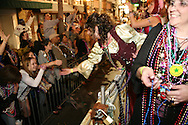 The Sant Yago Knight Parade (also known as Night Gasparilla) in Tampa / Ybor City, Florida.  The event attracted more than 100,000 people.