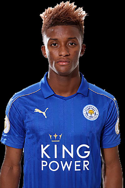 LEICESTER, ENGLAND - JULY 21: Demarai Gray during Leicester City Official Portraits at Belvoir Drive Training Complex on July 21 , 2016 in Leicester, United Kingdom.  (Photo by Plumb Images/Leicester City FC via Getty Images)