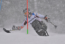 NOLTE Thomas LW11 GER at 2018 World Para Alpine Skiing World Cup slalom, Veysonnaz, Switzerland