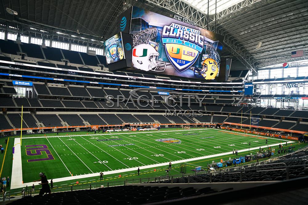 September 2, 2018- Dallas, TX ,U.S- at AT&T Stadium