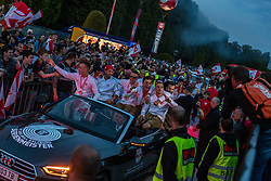 26.05.2019, Schloss Klessheim, Salzburg, AUT, 1. FBL, FC Red Bull Salzburg Meisterfeier, im Bild Autocorso der FC Red Bull Spieler // during the Austrian Football Bundesliga Championsship Celebration at the Schloss Klessheim in Salzburg, Austria on 2019/05/26. EXPA Pictures © 2019, PhotoCredit: EXPA/ JFK