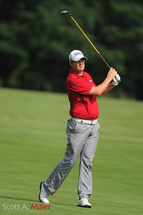 Marc Leishman during the third round of the Wells Fargo Championship at the Quail Hollow Club on May 5, 2012 in Charlotte, N.C. ..©2012 Scott A. Miller.