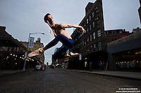 Meat Packing District Whitney Museum New York City Dance As Art Photography Project featuring dancer Andy Jacobs