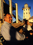 Roger Storer and his wife, Lark, retired from the technology industry in Austin. When deciding to build a new home on Lake Travis, the couple wanted to do something unique. At five stories high, their lighthouse-house in Jonestown is certainly that.