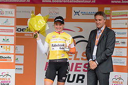 Roxane Knetemann (Rabo Liv) defends the mountains jersey at the 119 km Stage 6 of the Boels Ladies Tour 2016 on 4th September 2016 from Bunde to Valkenburg, Netherlands. (Photo by Sean Robinson/Velofocus).