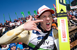 Andreas Kuettel (SUI) at Flying Hill Individual in last 4th day of 32nd World Cup Competition of FIS World Cup Ski Jumping Final in Planica, Slovenia, on March 22, 2009. (Photo by Vid Ponikvar / Sportida)