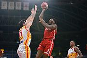 jones DeQuan<br /> Carpegna Prosciutto Basket Pesaro - Allianz Pallacanestro Trieste<br /> Campionato serie A 2019/2020 <br /> Pesaro 5/01/2020<br /> Foto M.Ciaramicoli // CIAMILLO-CASTORIA