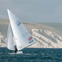 August 2011Olympic Test Event 2011 Weymouth Great Britain, Star Class Racing in the bay of Weymouth