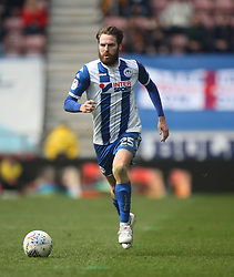 Nick Powell of Wigan Athletic in action - Mandatory by-line: Jack Phillips/JMP - 30/03/2018 - FOOTBALL - DW Stadium - Wigan, England - Wigan Athletic v Oldham Athletic - Football League One