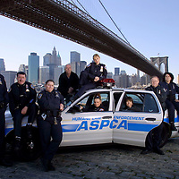 Cast of Animal Cops, New York for Discovery Channel.