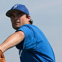 21 july 2010: Florian Peyrichou of Team France is seen during a practice prior to the 2010 European Championship Seniors, in Neuenburg, Germany.