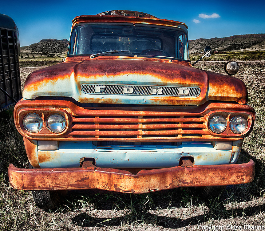 Old Truck, 06 Ranch, West Texas