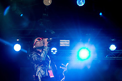 © Licensed to London News Pictures . 07/06/2015 . Manchester , UK . Onallee on stage at The Parklife 2015 music festival in Heaton Park , Manchester . Photo credit : Joel Goodman/LNP