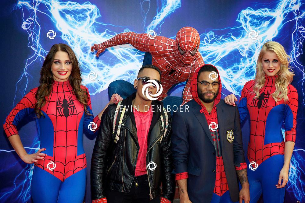 AMSTERDAM - Bij het Pathe ArenA Theater is de filmpremière van Spiderman II gehouden. Met hier op de foto