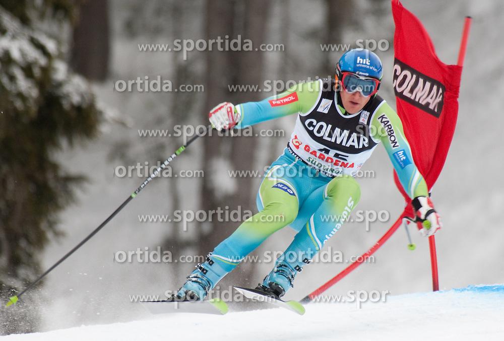 FIS Alpine Ski World Cup 2008 2009, Gr^den, 2. Training, im Bild Andrej SPORN, Fiscode 560447, Year of Birth 1981, Nation SLO, Ski Elan, EXPA Pictures © 2008, Fotographer EXPA/J. Groder/ SPORTIDA PHOTO AGENCY