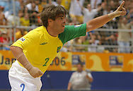 Football-FIFA Beach Soccer World Cup 2006 - Semi Finals, Brazil - Portugal, Beachsoccer World Cup 2006..Brasilian's Betinho.Rio de Janeiro - Brazil 11/11/2006. Mandatory credit: FIFA/ Manuel Queimadelos