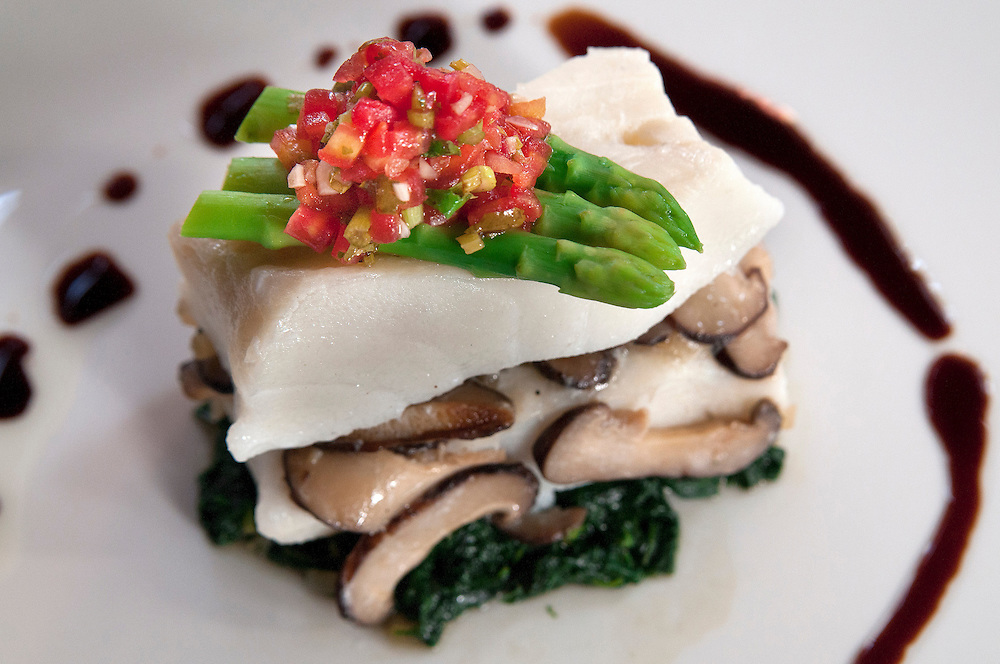 Snow fish special at Maison Chin restaurant in Bangkok, Thailand.