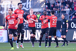 February 24, 2019 - Rennes, France - 11 MBAYE NIANG (REN) - JOIE (Credit Image: © Panoramic via ZUMA Press)
