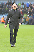 Sean Dyche Manager for Burnley FC during the Premier League match between Burnley and Fulham at Turf Moor, Burnley, England on 12 January 2019.