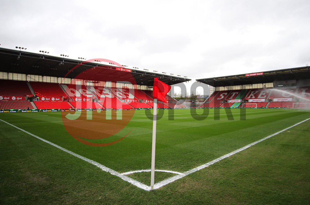 General view of Stoke City's Bet365 Stadium before the match - Mandatory by-line: Jack Phillips/JMP - 18/03/2017 - FOOTBALL - Bet365 Stadium - Stoke-on-Trent, England - Stoke City v Chelsea - Premier League