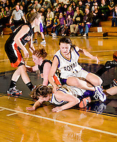 NHIAA Class M semi final girls basketball Mascoma versus Conant at SNHU March 6, 2010.