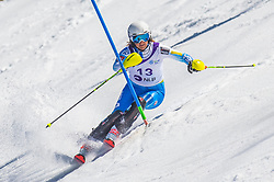 13# Graffi Brunoro Sofia from Italy during the slalom of National Championship of Slovenia 2019, on March 24, 2019, on Krvavec, Slovenia. Photo by Urban Meglic / Sportida
