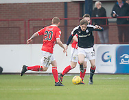 Dundee&rsquo;s Craig Wighton runs at St Mirren&rsquo;s Craig Storie  - Dundee v St Mirren in the William Hill Scottish Cup at Dens Park, Dundee. Photo: David Young<br /> <br />  - &copy; David Young - www.davidyoungphoto.co.uk - email: davidyoungphoto@gmail.com