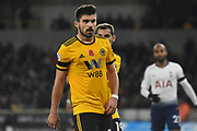 Wolverhampton Wanderers midfielder Ruben Neves (8) during the Premier League match between Wolverhampton Wanderers and Tottenham Hotspur at Molineux, Wolverhampton, England on 3 November 2018.