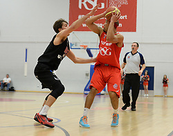Bristol Flyers' Greg Streete - Photo mandatory by-line: Alex James/JMP - Mobile: 07966 386802 - 13/03/2015 - SPORT - Basketball - Bristol - SGS Wise Campus - Bristol Flyers v Leicester Riders - British Basketball League