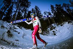 13.12.2013, Nordische Arena, Ramsau, AUT, FIS Nordische Kombination Weltcup, Skisprung Training, im Bild // during Ski Jumping Training of FIS Nordic Combined World Cup at the Nordic Arena in Ramsau, Austria on 2013/12/13. EXPA Pictures © 2013, EXPA/ JFK