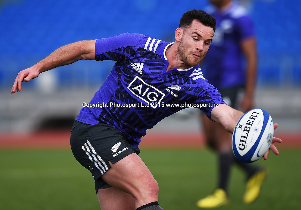 Ryan Crotty during an All Blacks squad training session at Trusts Stadium ahead of the test match against Samoa next week. Auckland, New Zealand. Friday 3 July 2015. Copyright Photo: Andrew Cornaga / www.Photosport.nz