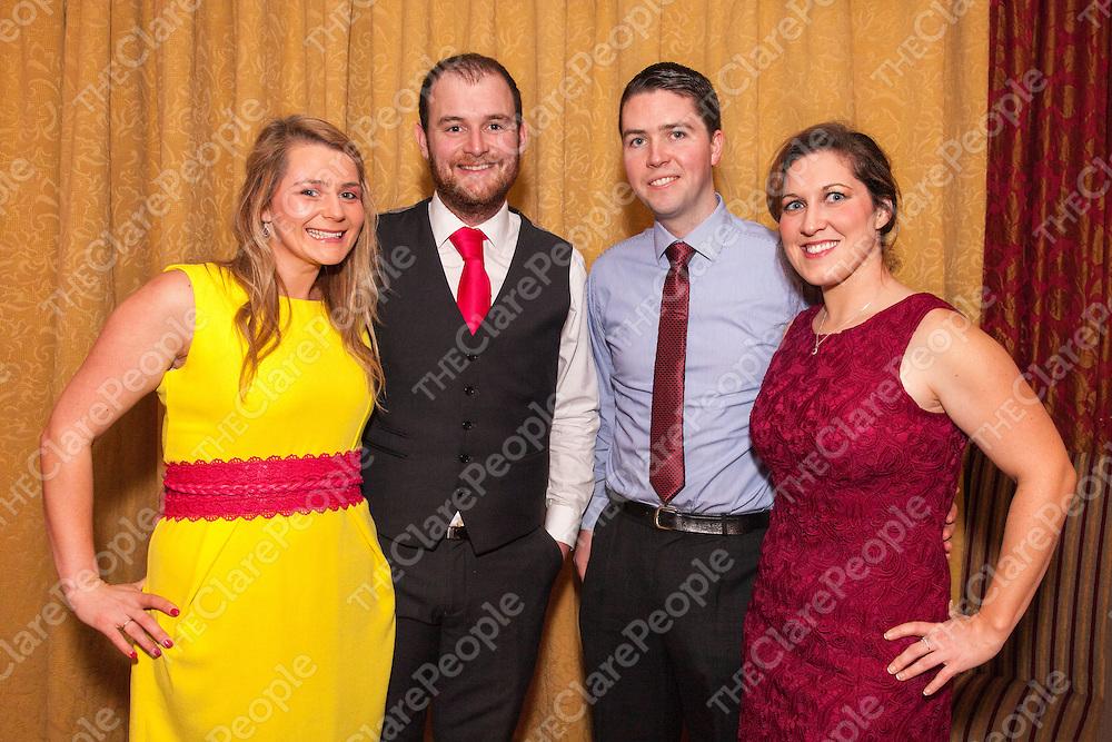 Leanne & Seamus Conway, Michael Loughnane and Fiona O'Neill