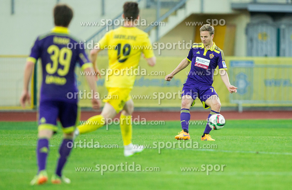 Ales Mertelj #70 of Maribor during football match between NK Radomlje and NK Maribor in 29th Round of Prva liga Telekom Slovenije 2014/15, on April 24, 2015 in Sportni park Domzale, Slovenia. Photo by Vid Ponikvar / Sportida
