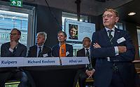 UTRECHT -    aftredend president, Willem Zelsmann,   Algemene Ledenvergadering van de Nederlandse Golf Federatie NGF.   COPYRIGHT KOEN SUYK