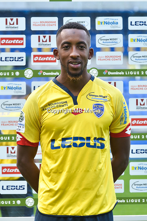 Moussa Sao of Sochaux during the FC Sochaux photocall for the season 2016/2017 in Sochaux on September 20th 2016<br /> Photo : Philippe Le Brech / Icon Sport